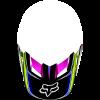 Козырек Fox Racing V1 Race elloy\blu р.XL/2XL