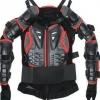 Защита (черепаха) Реплика  2 FOX Titan Sport Jacket черн\красная р-р L