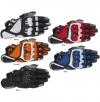 Мото перчатки Aipinesters S-1 реплика черно-белые р.ХL