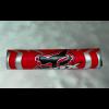 Подушка руля FOX круглая 225мм красная