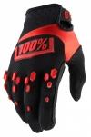 Перчатки 100% AIRMATIC черно/красные р. M(9)