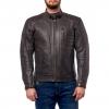 Куртка кожаная MOTEQ Gunner черно-коричневая р.48-50(L)